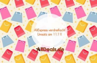 AliExpress verdreifacht den Umsatz am 11.11 gegenüber 2015!