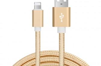 Preisverlauf Nylon iPhone Ladekabel von BASTEC