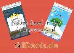Neues Spiel in der AliExpress App!