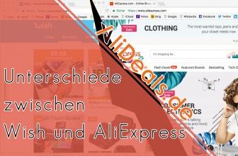 Unterschiede zwischen Wish und AliExpress